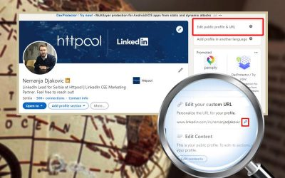 QUICK TIP: Podesite custom URL za vaš lični profil