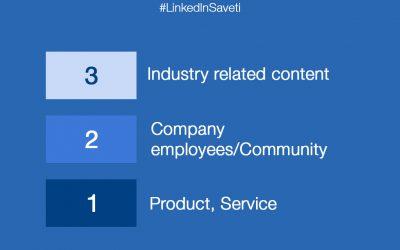 LinkedIn preporuke za raznovrsnost sadržaja